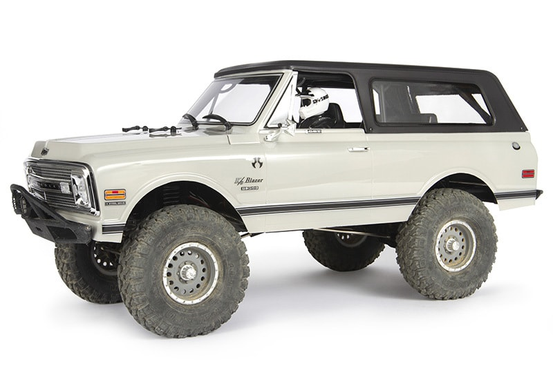 Axial 1969 Chevy K5 Blazer Hardtop Body Accessory Rc Newb