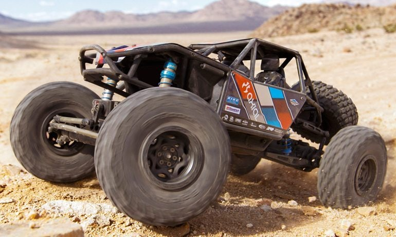 Axial Releases a Kit Version of the RR10 Bomber Rock Racer