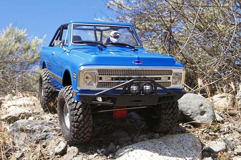 See it in Action: Axial's SCX10 II 1969 Chevrolet Blazer RTR [Video]