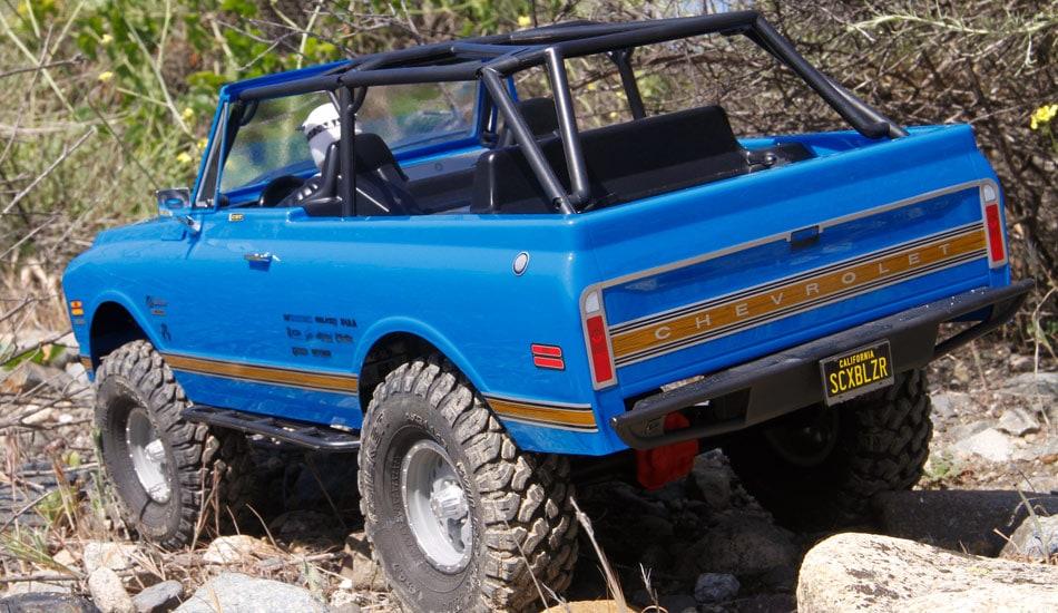 A Retro Rig: Axial's SCX10 II '69 Chevy Blazer RTR | RC Newb