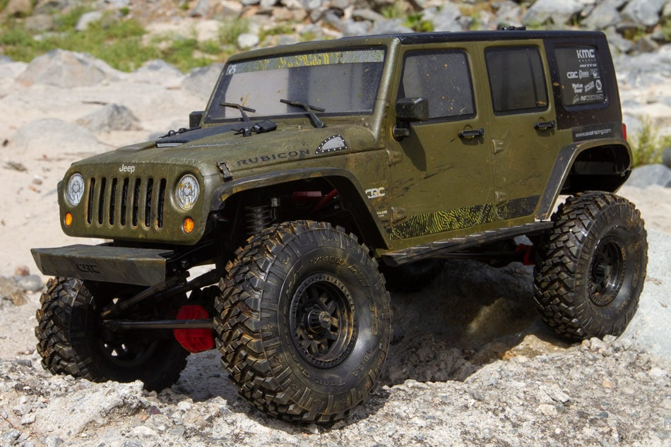 axial 2017 jeep wrangler unlimited rubicon clear body rc newb. Black Bedroom Furniture Sets. Home Design Ideas