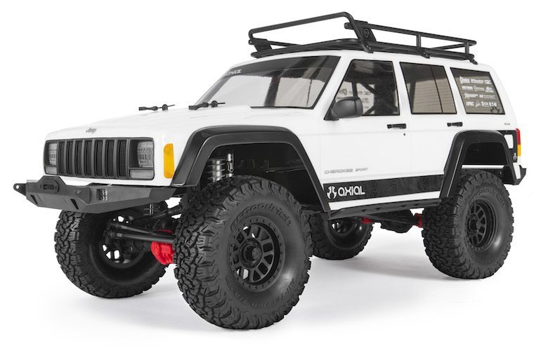 Axial's Scale Evolution: SCX10 II Jeep Cherokee Kit