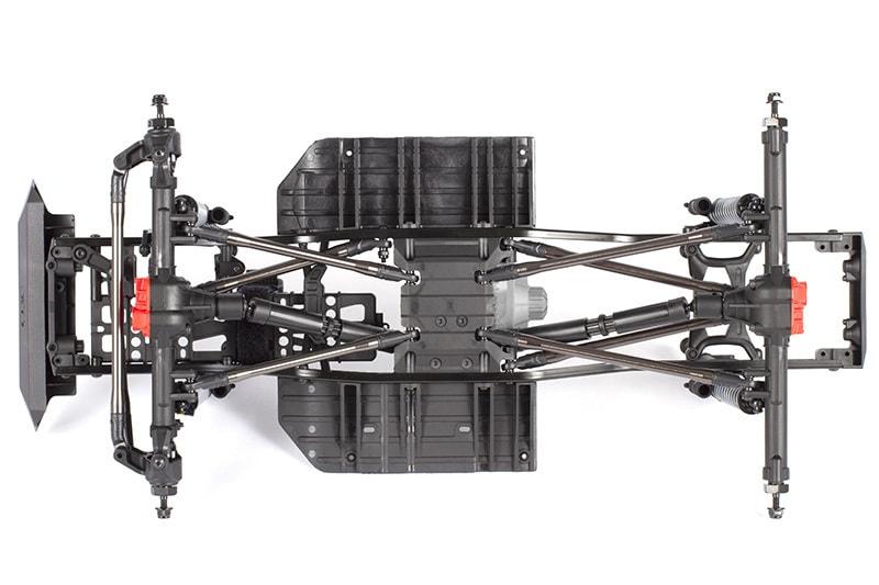 Axial SCX10 II Raw Builder's Kit - Bottom