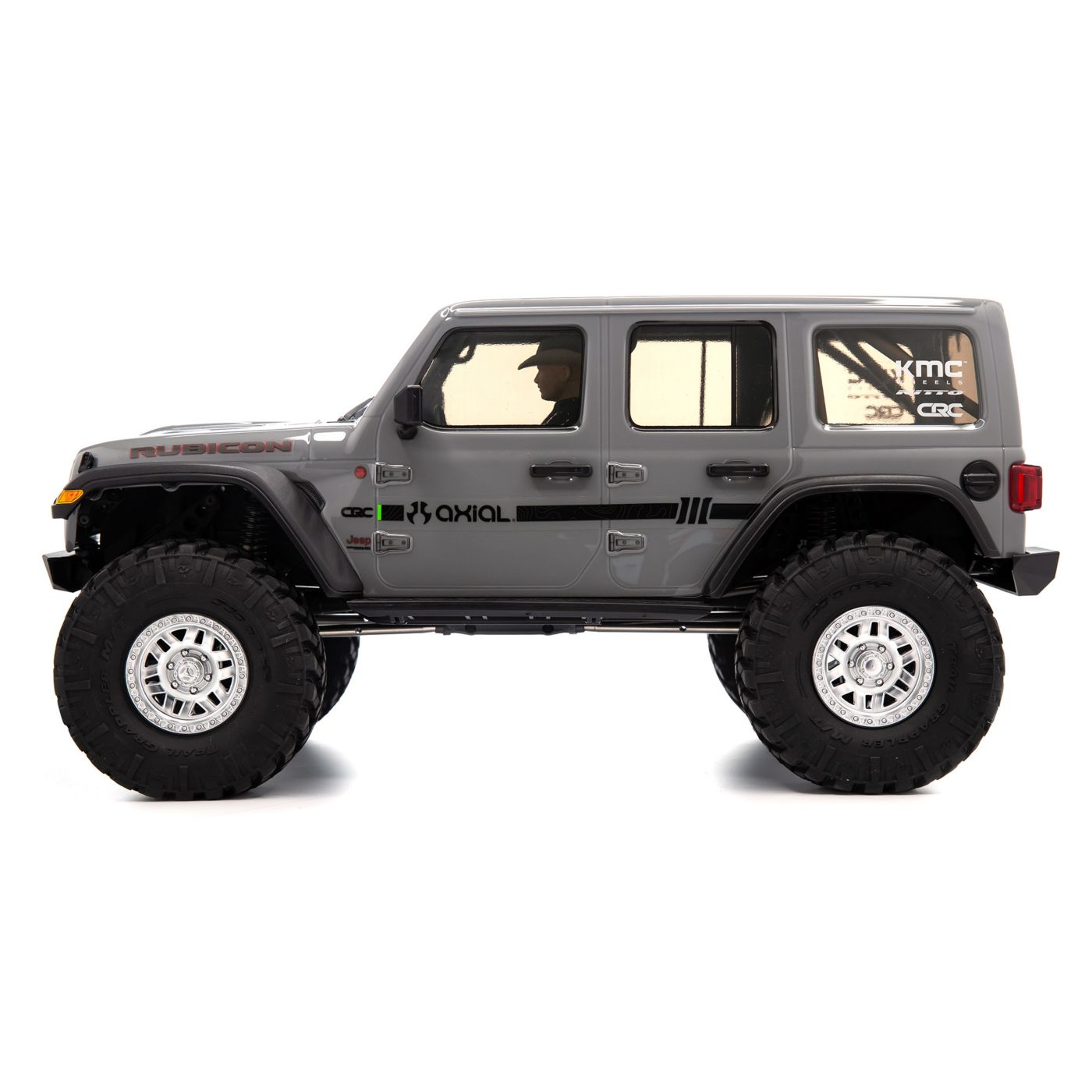 Axial SCX10 III RTR - Gray - Side