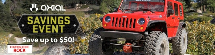 Blaze a Trail into the Holiday Season with these Axial Discounts