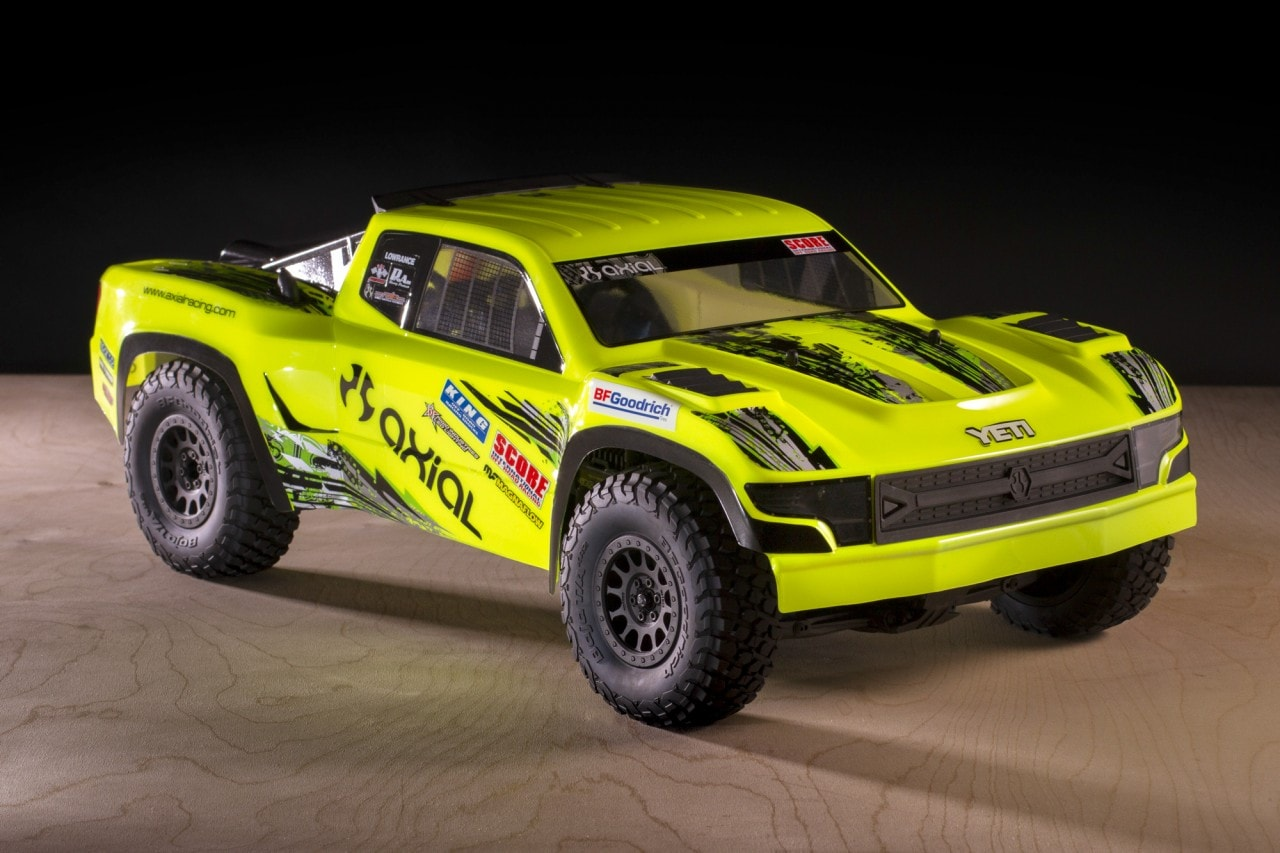 Give Your Axial Yeti SCORE Trophy Truck a Custom Look With Two New Body Options