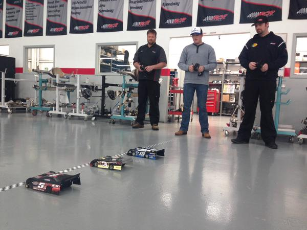 Even the Professionals Love R/C Cars