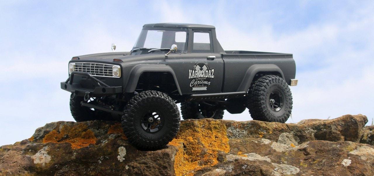 """Carisma Scale Adventure's SCA-1E """"Coyote"""" RTR Trail Truck"""