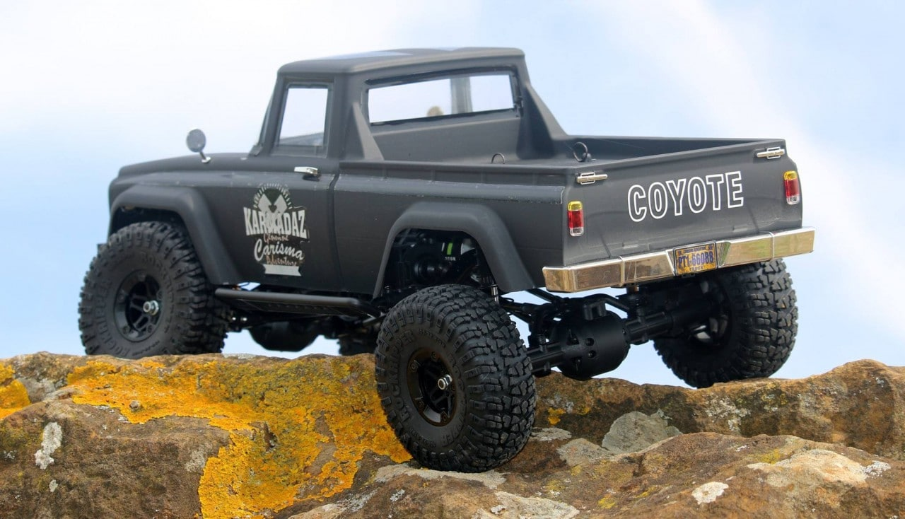 Carisma Scale Adventure SCA-1E Coyote RTR - Rear 2