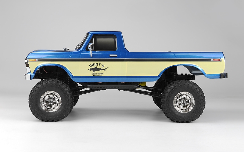 Carisma Scale Adventure SCA-1E Ford F-150 Blue Edition - Side