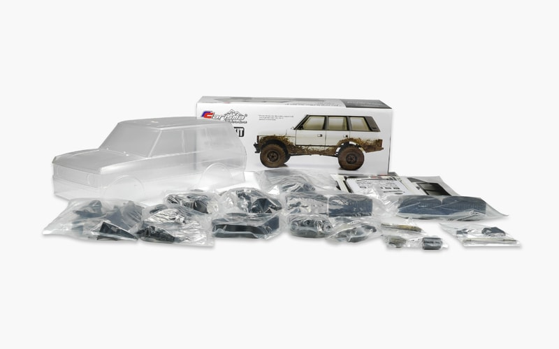 Create a Classic: Carisma Scale Adventure's SCA-1E 1981 Range Rover Kit