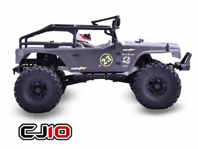 Caster Racing CJ10-16-RTR 1:10 Jeep Rock Rocket - Side