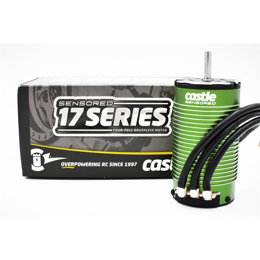 Get Your Large-scale Machine Moving with Castle Creations 1717 Sensored Motor