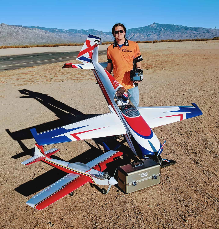 R/C Pilot Colton Clark Joins Team Futaba
