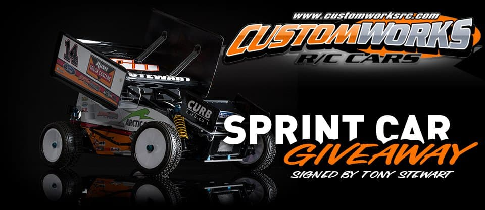 Enter to Win a Signed Tony Stewart Custom Works Outlaw 3 Sprint Car from AMain Hobbies.