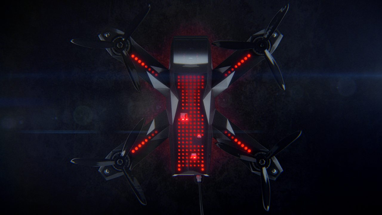 The Drone Racing League's Racer3 is Ready for Competition