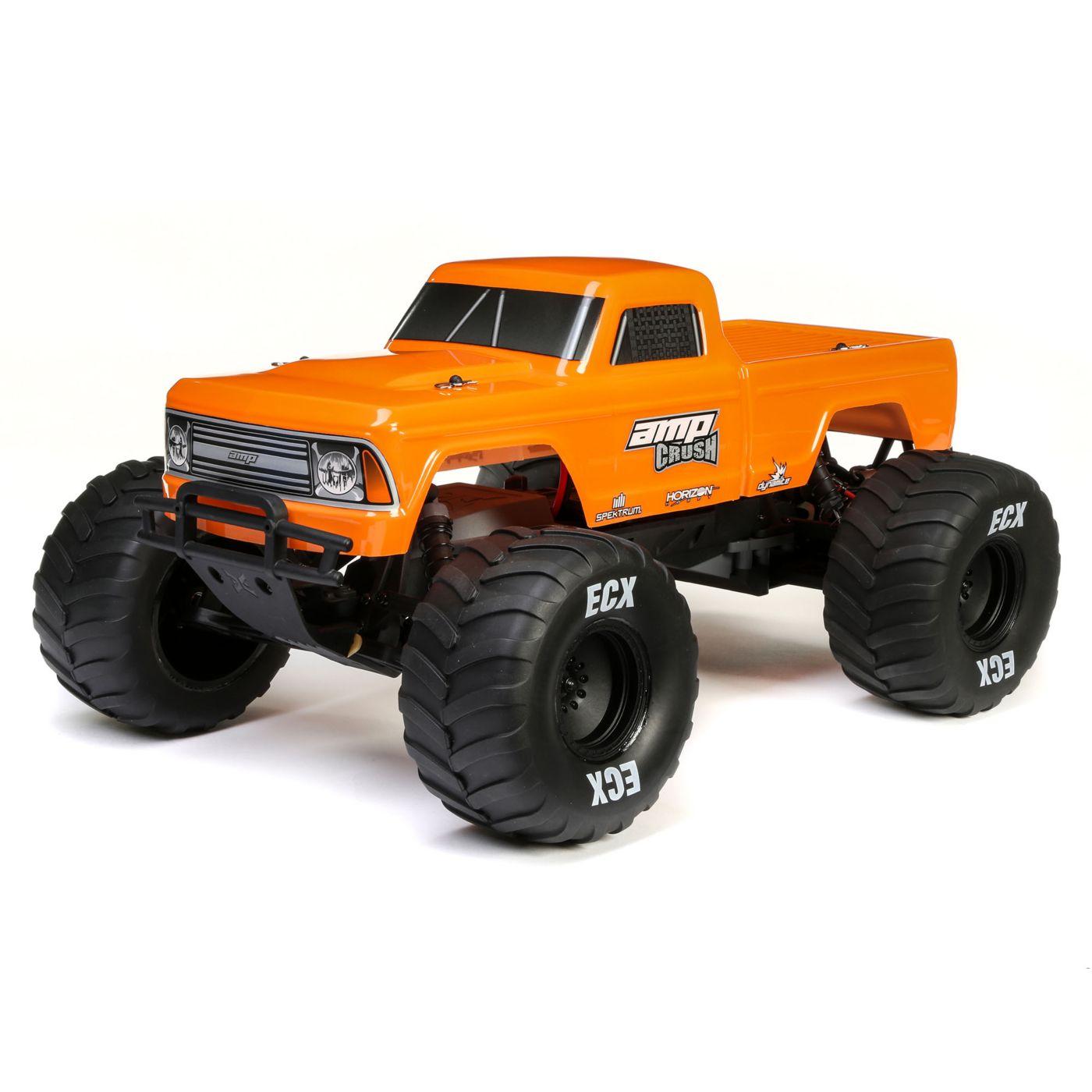 ECX Amp Crush 2WD Monster Truck - Orange