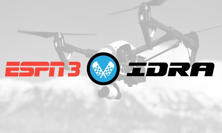 ESPN to Stream IDRA Drone Races Beginning in 2016