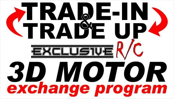 Exclusive R/C Launches a Motor Enclosure Exchange Program