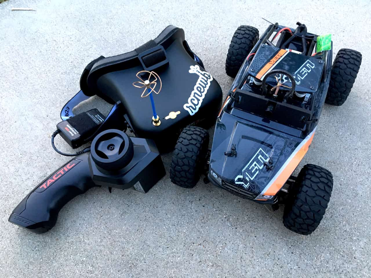 FPV Camera Setup - Axial Yeti Jr. Rock Racer