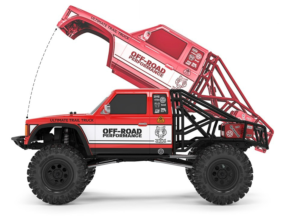 Gmade BOM Ultimate Trail Truck Specs & Additional Details