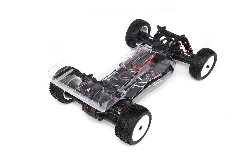HB Racing D418 Competition Buggy Kit - Rear Top