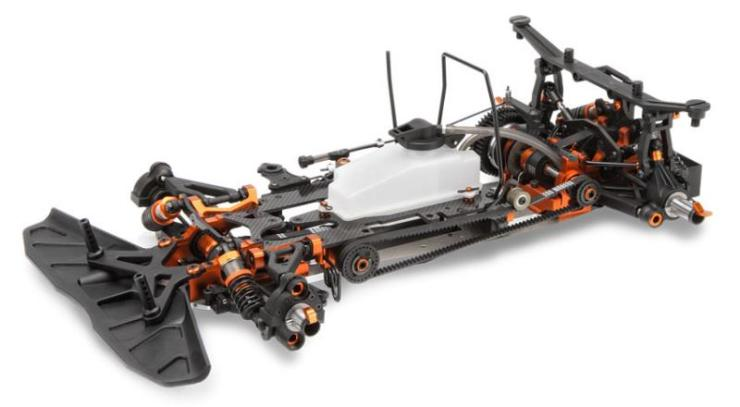 HB Racing R8 Chassis