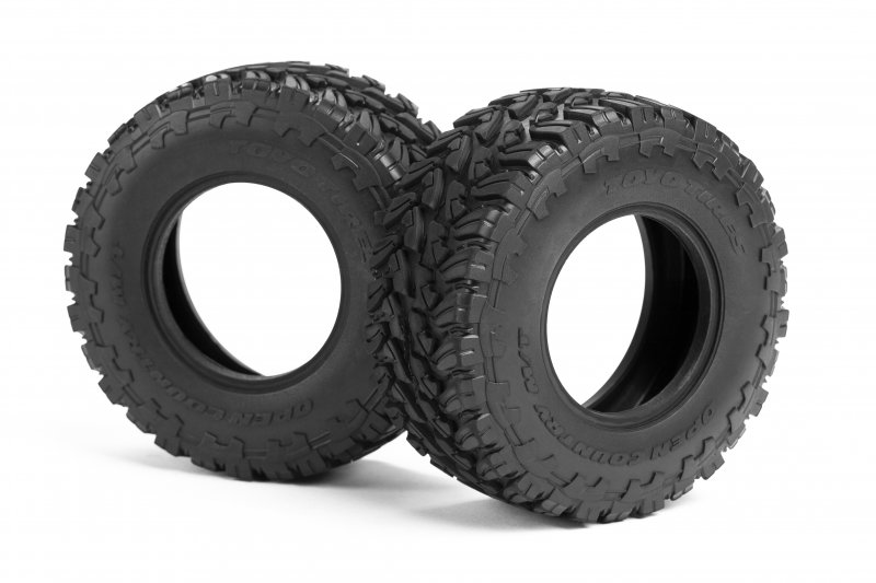 HPI's Toyo Tires Open Country M/T Short Course Truck Tires for the Jumpshot SC