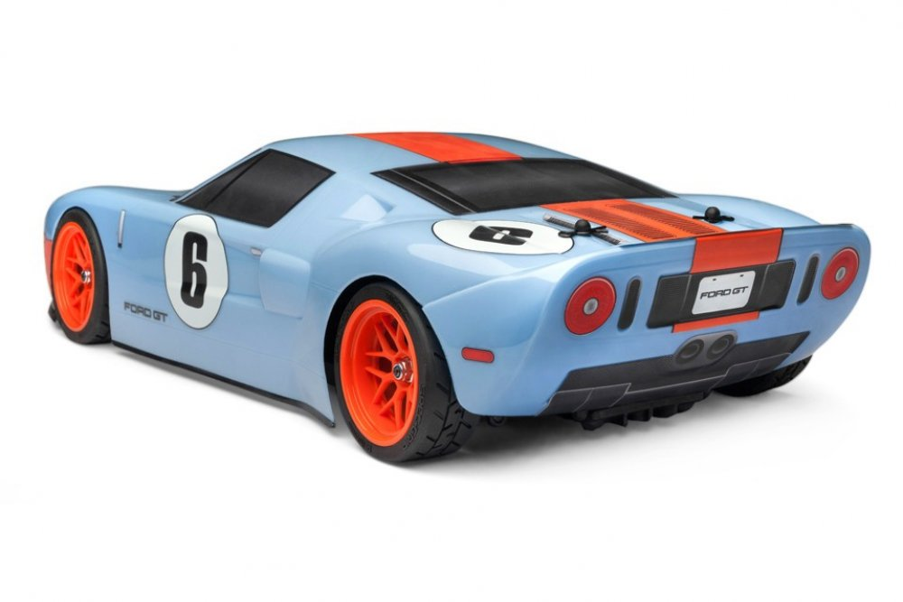 HPI RS4 Sport 3 Flux Ford GT Heritage Edition - Rear