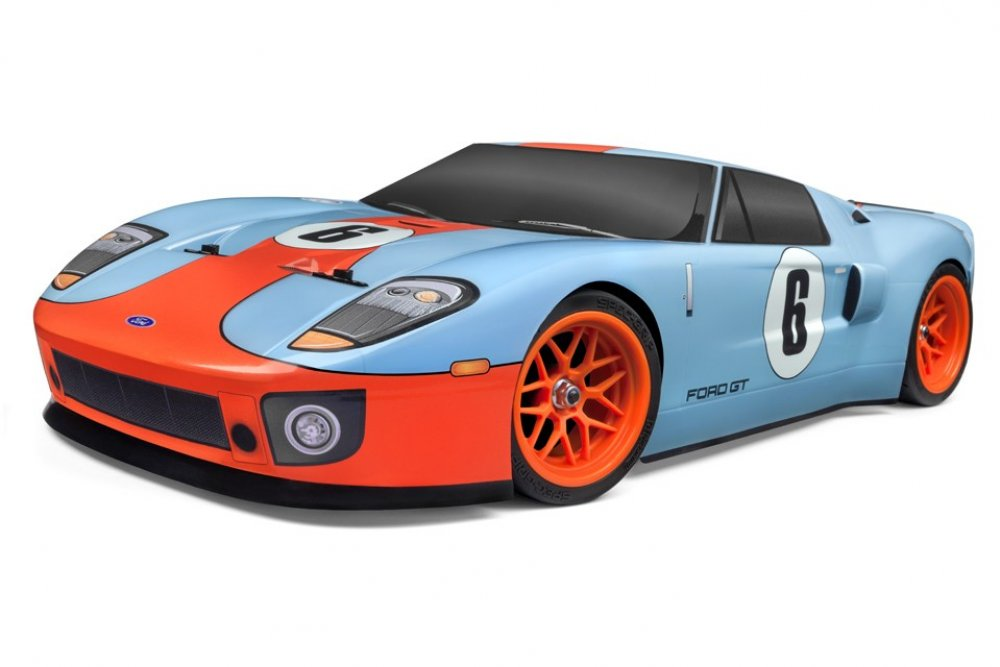 Torch the Track with HPI's RS4 Sport 3 Flux Ford GT Heritage Edition