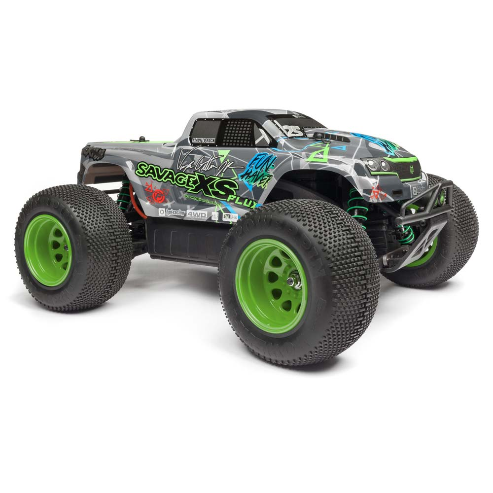 HPI Savage XS Flux Mini-Monster Truck: Vaughn Gittin Jr. Edition