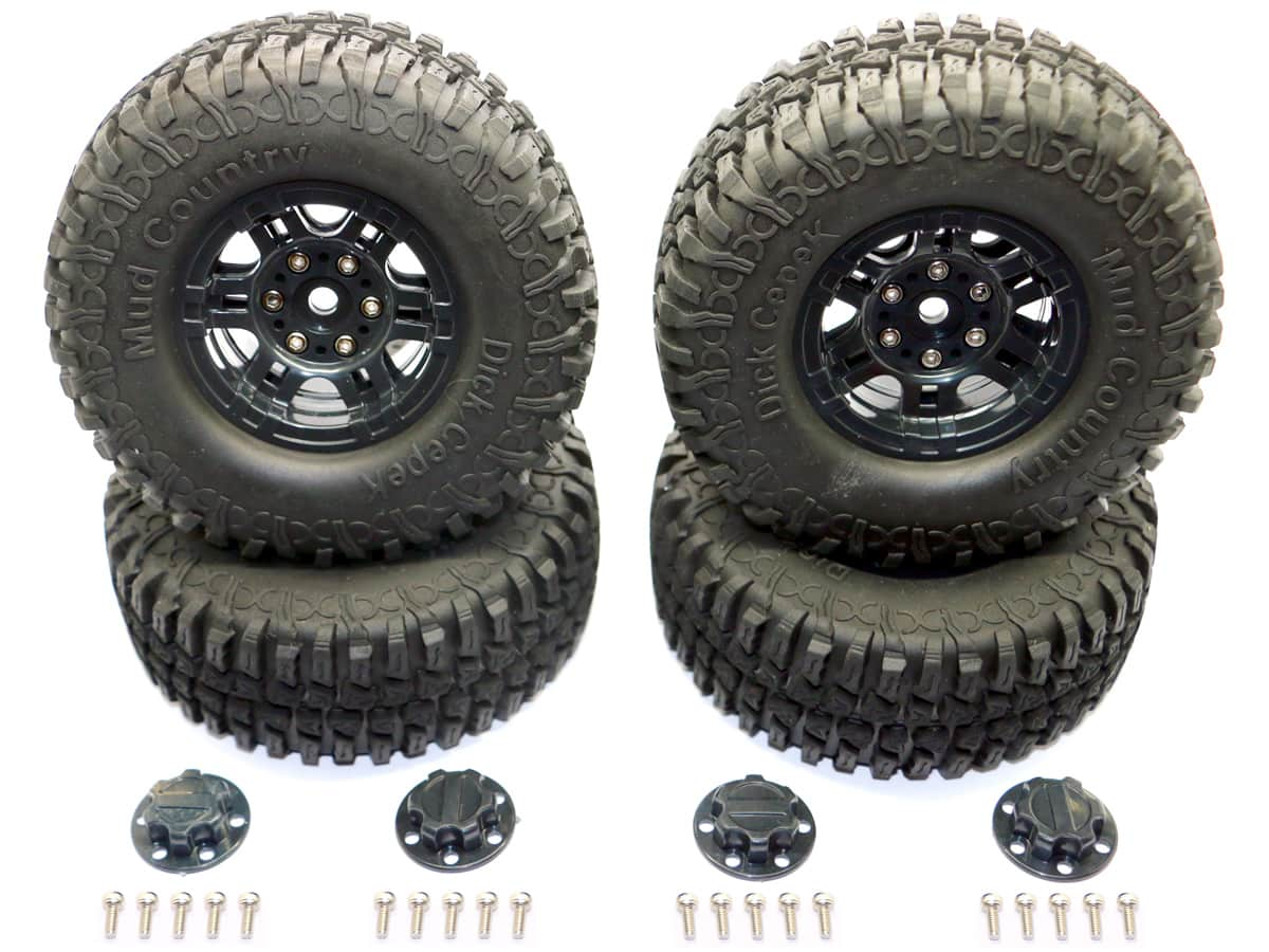 "HRD Distribution Introduces New 1.9″ ""Mud Country"" R/C Crawler Tires"