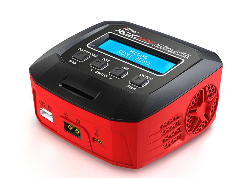 Keep Your Batteries Charged on the Go with Hitec's RDX1 Mini AC Charger