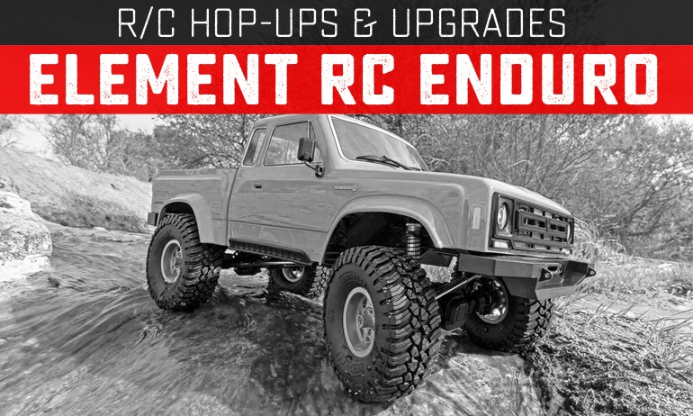 Upgrades and Hop-ups for the Element RC Enduro Trail Truck