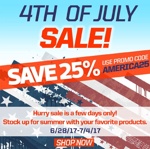 Save 25% During AirAgeStore.com's Independence Day Sale