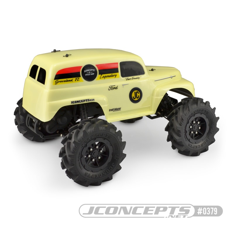 JConcepts 1951 Ford Panel Truck Body - Rear.jpg