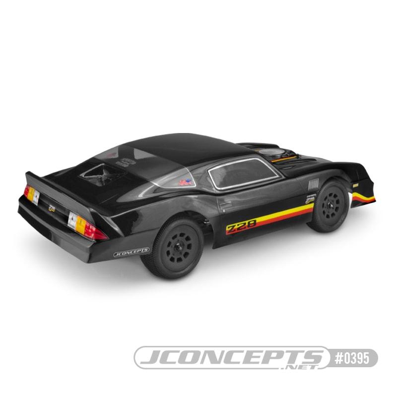 JConcepts 1978 Chevy Camaro Street Stock Body - Rear