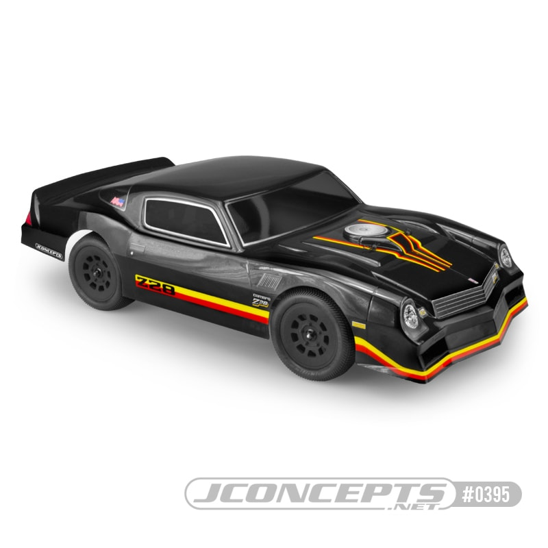 JConcepts 1978 Chevy Camaro Street Stock R/C Body