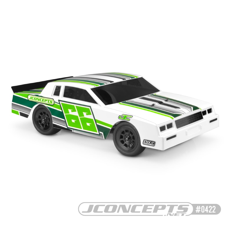 JConcepts 1987 Chevy Monte Carlo Street Stock Dirt Oval Body