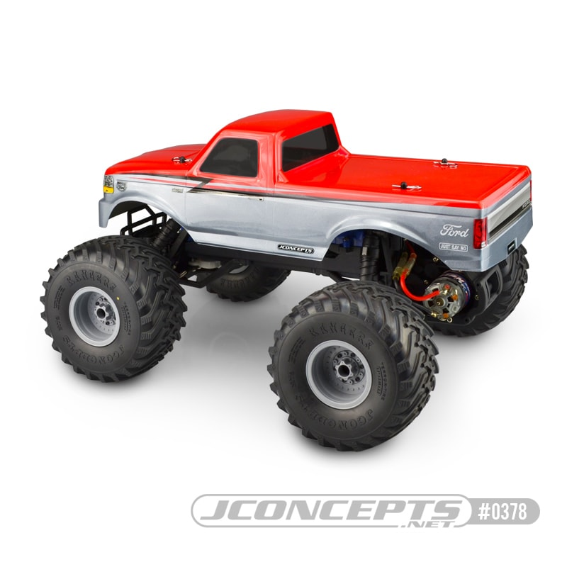JConcepts 1993 Ford F-250 Body for the Traxxas Stampede - Rear