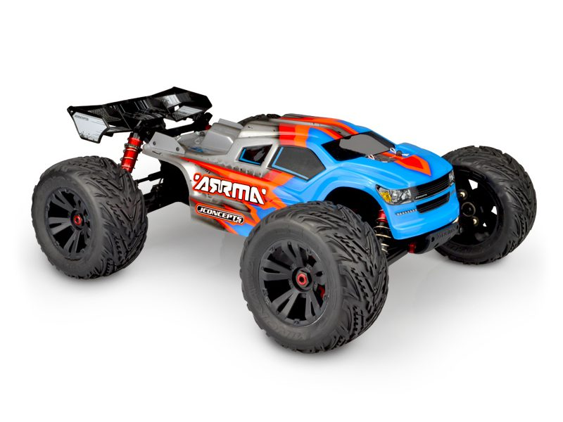 Amp Up Your ARRMA Kraton BLX with JConcepts Finnisher Body