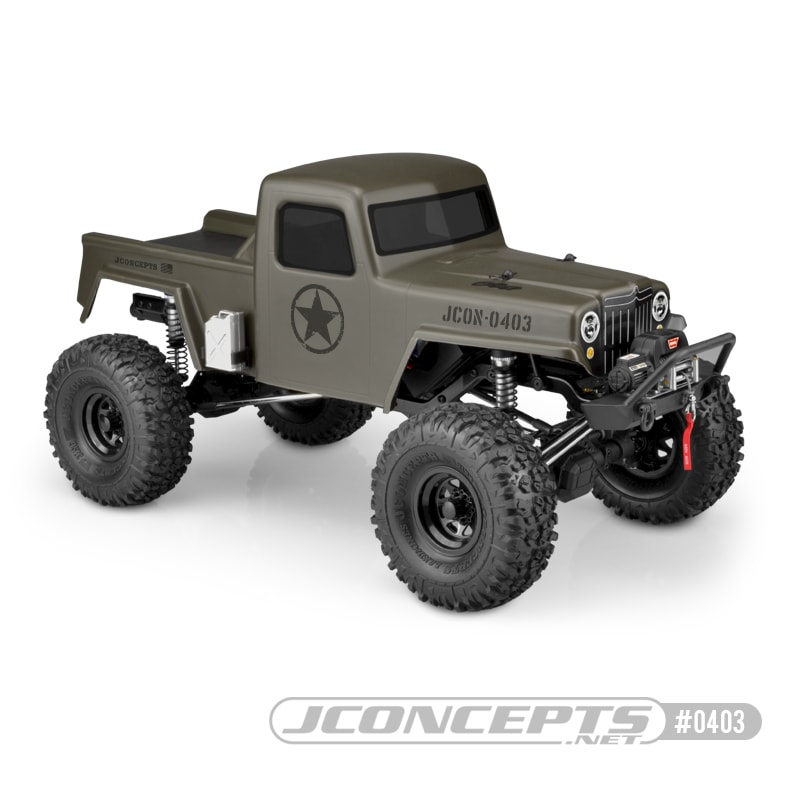 "Turn Your Crawler into a ""Creep"" with JConcepts Latest Trail Truck Body"