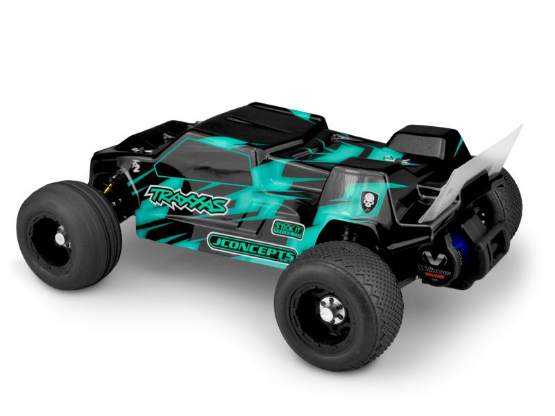 JConcepts F2 Traxxas Rustler VXL Body - Rear