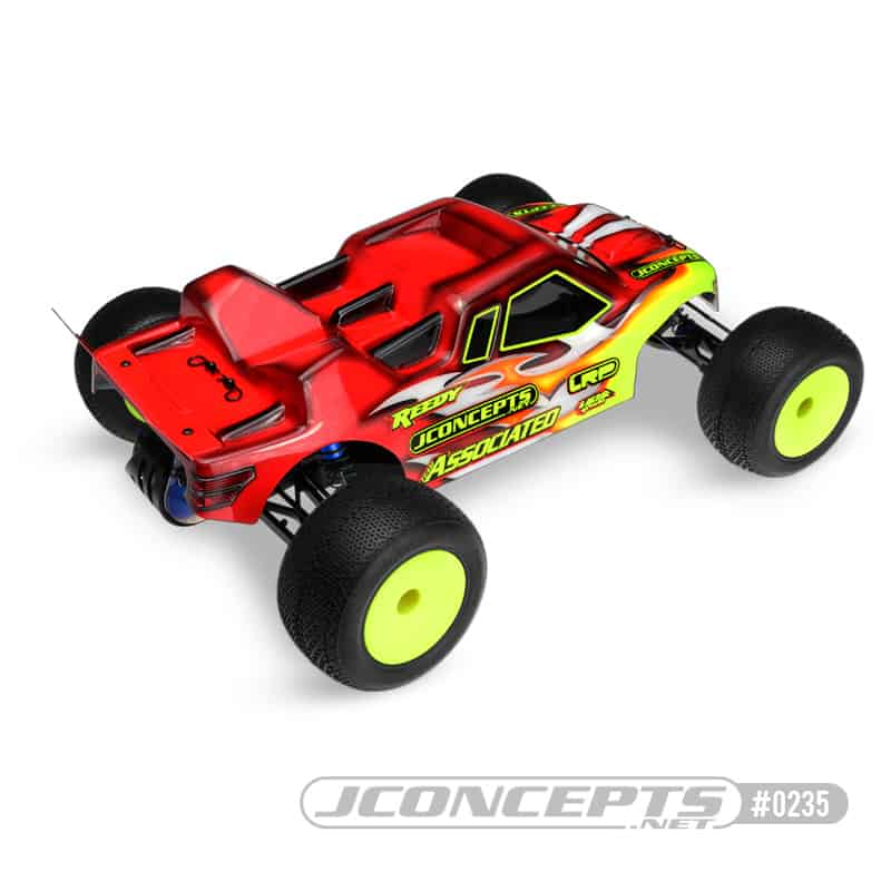 JConcepts Finnisher Body for the Team Associated T4 - Rear