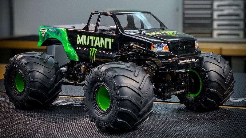 Four Monster Truck Tire Options from JConcepts
