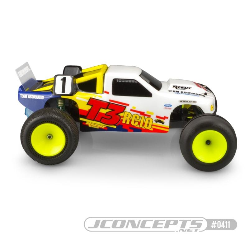 JConcepts RC10 T3 Stadium Truck Body - Side