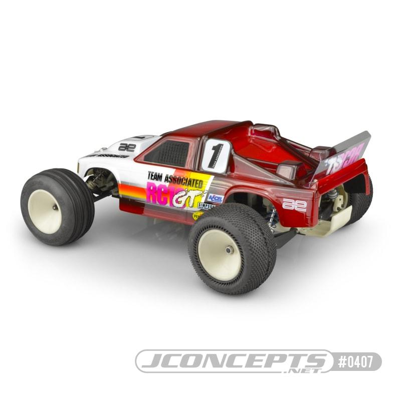 JConcepts RC10GT Authentic Stadium Truck Body - Rear