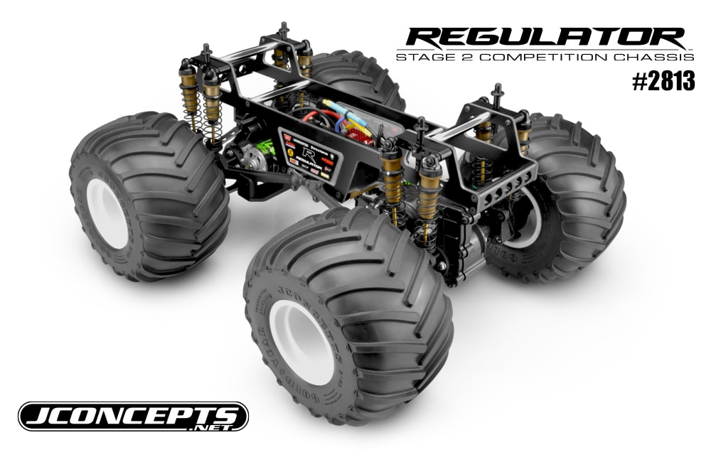JConcepts Regulator Stage 2 Competition R/C Monster Truck Chassis Kit