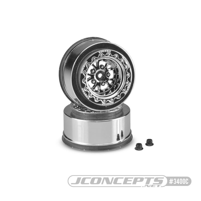JConcepts Tactic Chrome Street Eliminator Wheels - Rear