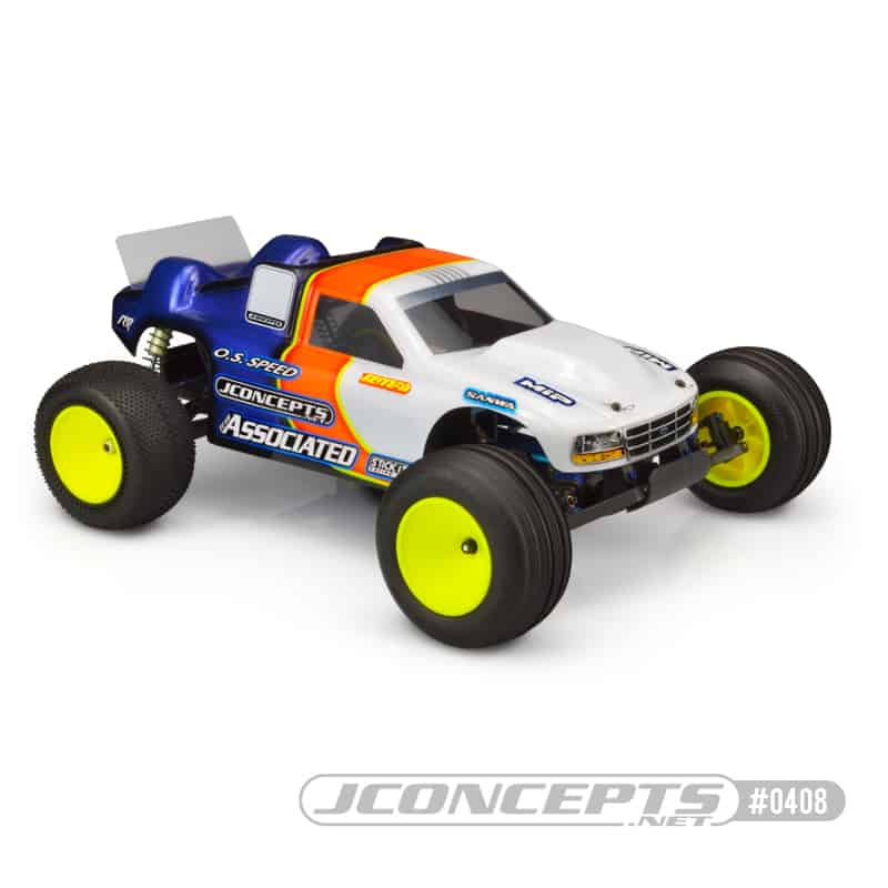 Rip it Old School with JConcept's Team Associated RC10GT Stadium Truck Body